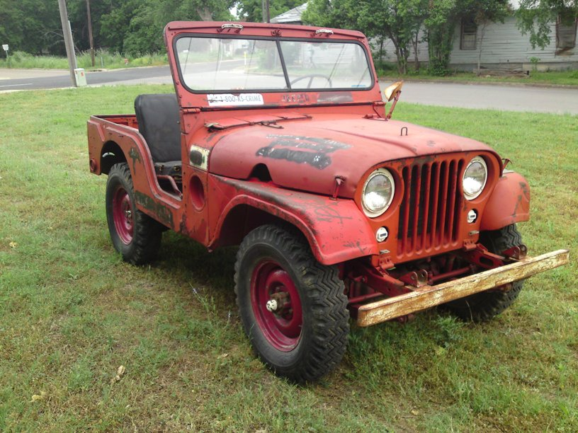 1953 M38a1 Willys Jeep Kansas 2