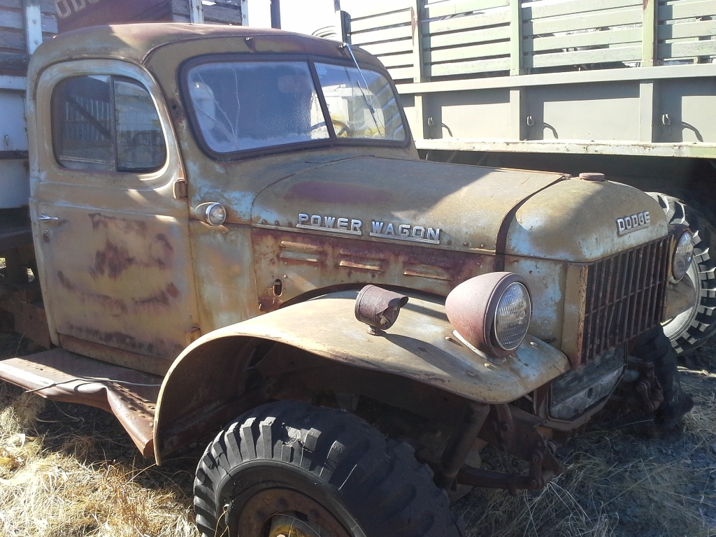 Dodge Power Wagon For Sale >> Dodge_Power-Wagon_Parts-Truck_No1