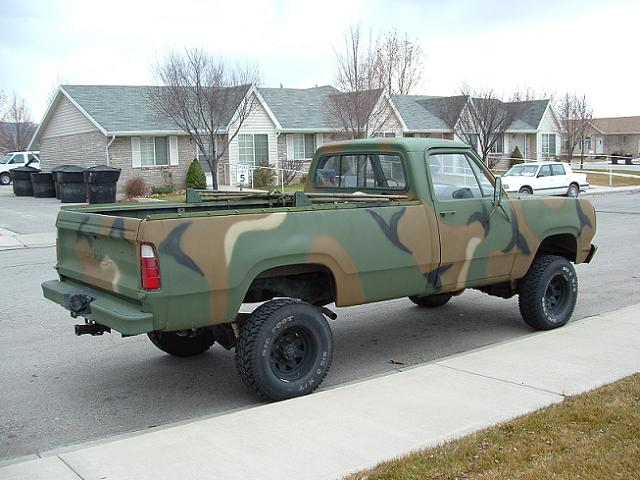 m880 dodge military truck page. Black Bedroom Furniture Sets. Home Design Ideas