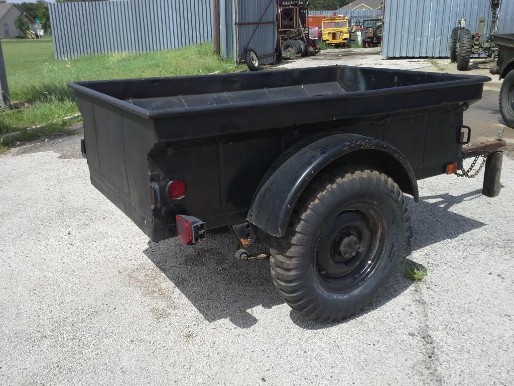 Jt 22 M100 Jeep Trailer Greensburg Black