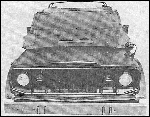 M715 Kaiser Jeep Stuff