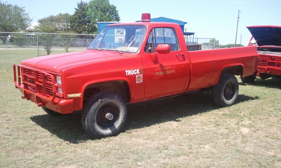 86 Chevy Military M1008 Pickup Autos Post