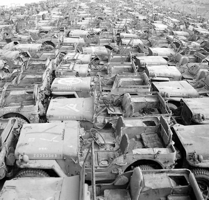 Jeep Graveyard on the Island of Okinawa, Japan - JeepForum.com